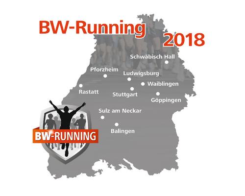 BW-Running 2018 ist online! Wir starten durch.