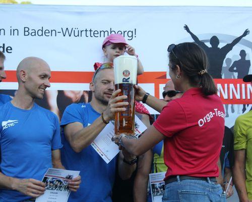 AOK Firmenlauf Schwäbisch Hall - Glückwunsch an drei Mixed-Teams!
